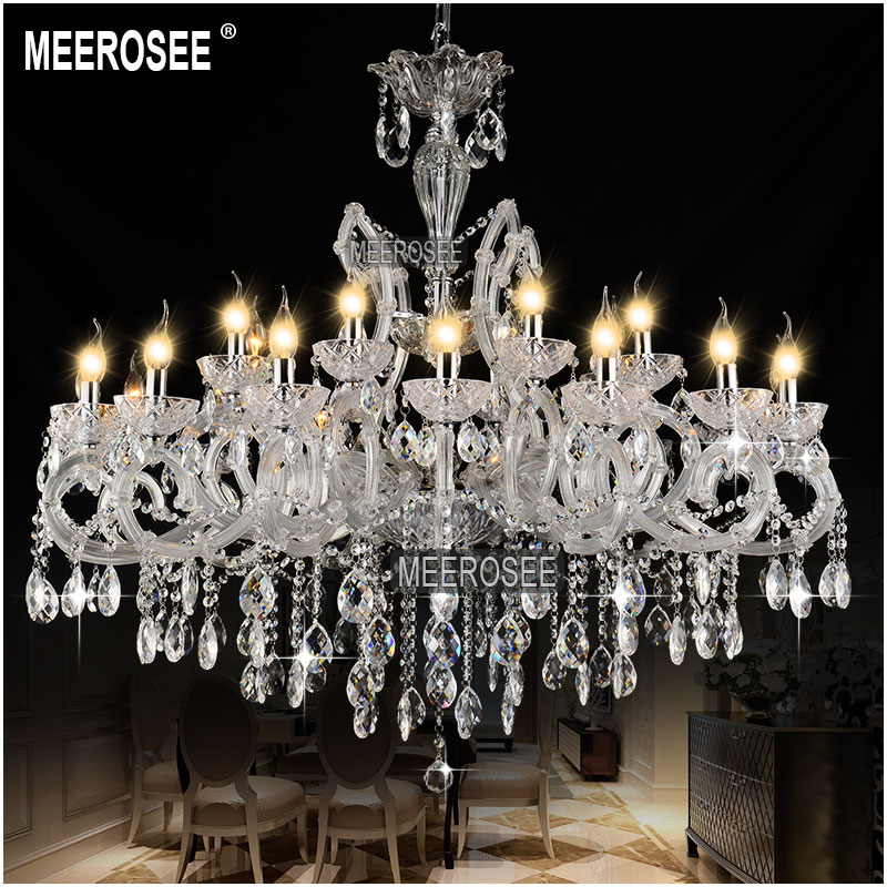 Hot sale classic crystal chandelier light fixture clear white crystal lamp pendant for hotel - Chandelier for sale ...