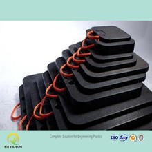 Heavy duty and light duty floor mats/ HDPE stabilizer crane leg protection pad/ crane foot bearing support