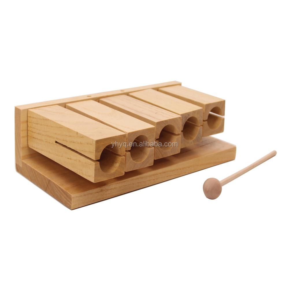 Instrument de musique Instrument de percussion en bois et  ~ Bois Instrument