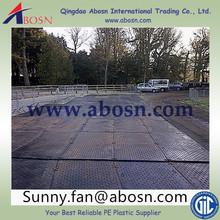 engineering plastic hdpe ground mat/temporary road