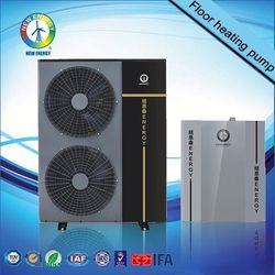 for Villa most stable DHW use air heater fan side heat pump water heater Monoblockfor shower,R410A heat pump high temperature