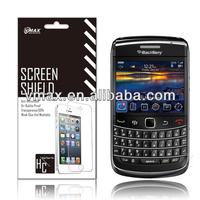 TFT lcd clear screen protector for Blackberry 9700 oem/odm (Anti-Fingerprint)