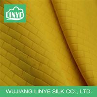 double side great wall grid fabric, fashion fabric, autumn coat fabric