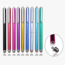 Aluminium and steel body touch screen pen for ALL screens