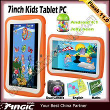 hot sell 7 inch tablet pc for kids learning and toy