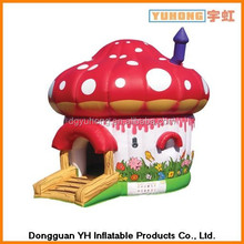 home use inflatable oxford bounce mushroom for children