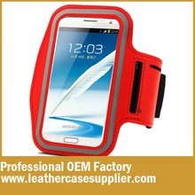 sport armband jogging waterproof case for galaxy note n7000