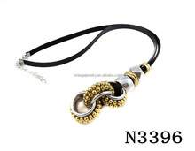 N3396 Charming Fashion Special Ring Pendant Necklace