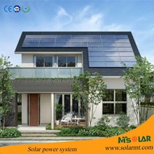 Complete solar system 3KW with high efficiency solar panels