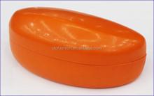 YT3060 PU leather easy clip sunglasses hard case