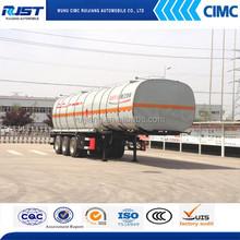 35m3 Asphalt bitumen transport tank truck trailer for sale /Insulation tank trailer