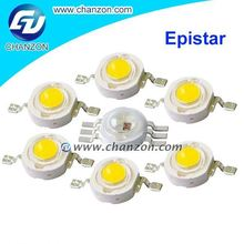 Bridgelux epistar chip 3.2-3.6v 3w High Power Led Lamp1w Led Beads 1w 630nm led