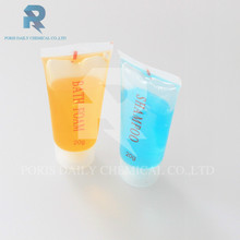 20ml new product good smell disposable wholesale tube hotel shampoo conditioner