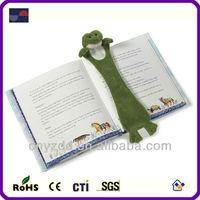Plush Bookmark / Plush 3d animal bookmarks