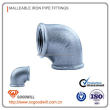 transition joint black malleable casting iron pipe fittings