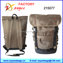 Softback Type and 1680D,1680D+PU leather Material backpack zoyeebags