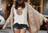 Hot new design fashion products online shopping long sleeve knit modern women cute korean clothes