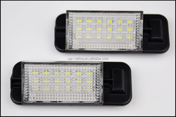 led license plate light lamp super bright waterproof led number plate lamp tail light for bmw e36 12v 7w