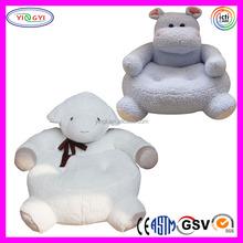 D057 Cartoon Farm Animal Stuffed Sofa Plush Baby Animal Sofa Chair