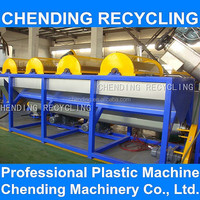 CHENDING pp pe waste plastic film bag flakes cleaning machine line