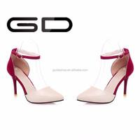 women high heel ankle strap wedding sandals shoes