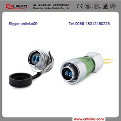 Electrical cable fiber optic cable price optic Fibre power connector 2 core fiber optic cable