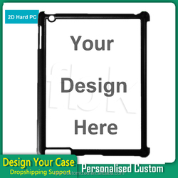 2D sublimation phone case for ipad 2/3/4 customize cases