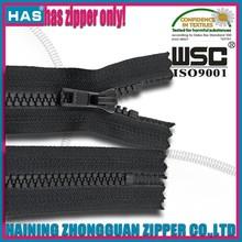 All size all length all types of plastic derlin zipper resin zipper