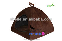 Small portable dog bed pet house