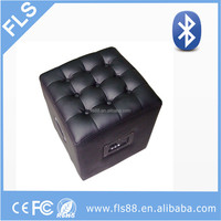 2015 hot selling strong bass furniture bluetooth ottoman with speaker