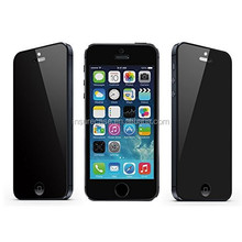 ISK Privacy Anti-Spy Tempered Glass Screen Protector HD 9H Ultra Shield Perfect Fit for Apple Iphone 5S 5C 5