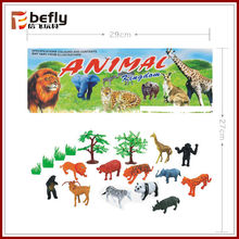 new style small animals plastic toys