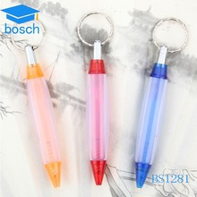 3in 1 Multifunction short highlighter pen with Keychain
