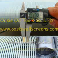 Galvanized Low Carbon Steel Water Well Screen