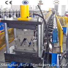 Expressway guard bar making roll forming machine