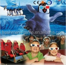 5D cinema entertainment with special effects