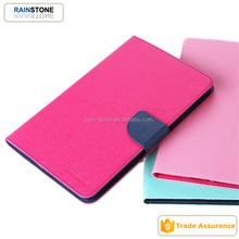 Original Mercury fancy diary case for iPad mini 4 leather flip case