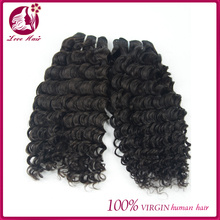 Natural color new arrive top quality and beautiful 100% natural color deep wave virgin brazilian remy hair weft