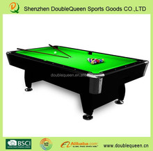 brinktun pool table with high quality green cloth