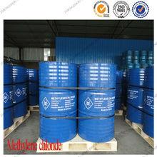 250kg/iron drum dichloromethane methylene chloride solvent