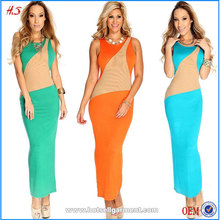 China supplier wholesale woman maxi dresses made in China