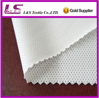 polyester spandex knitting mesh fabric high quality stretch/lycra fabric manufacturer