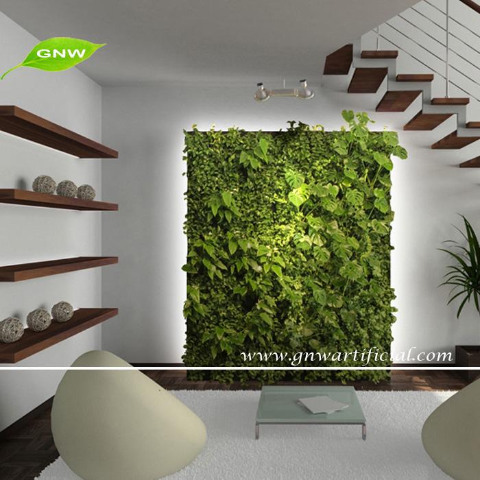 gnw glw016 수직 정원 녹색 벽 가짜 플라스틱 식물 벽에 실내 outddor ...