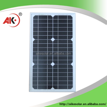 Chinese wholesale solar panels 30w mono best price hot selling