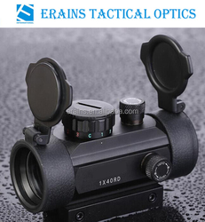 Erains TAC Optics New Airsoft tactical Dual Rails Fitting Combat 1x40 red green and blue aiming dots tactical red dot sight