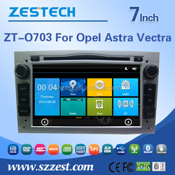 ZESTECH double din car radio for Opel Astra with 3G bluetooth gps tv