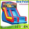 New Point PVC trapoline Fire Fighting Truck Inflatable Slide