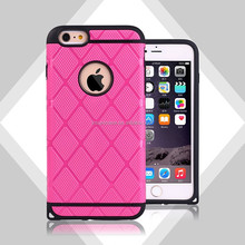 PC+TPU double layer phone cases for iphone 6 plus