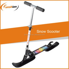2015 cheap snow scooter /snow skies /folding snow kick scooter