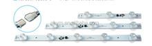 Power Strip/ intensive illumination strip for advertising light box